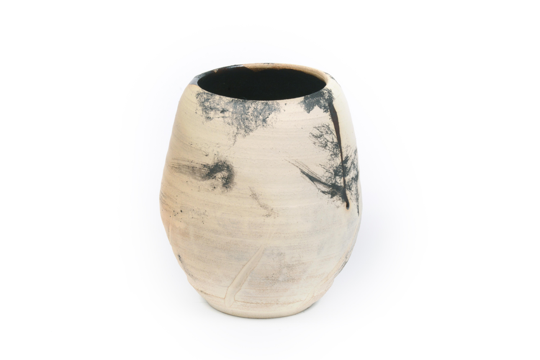 horse hair pottery, horse hari, pottery, handmade