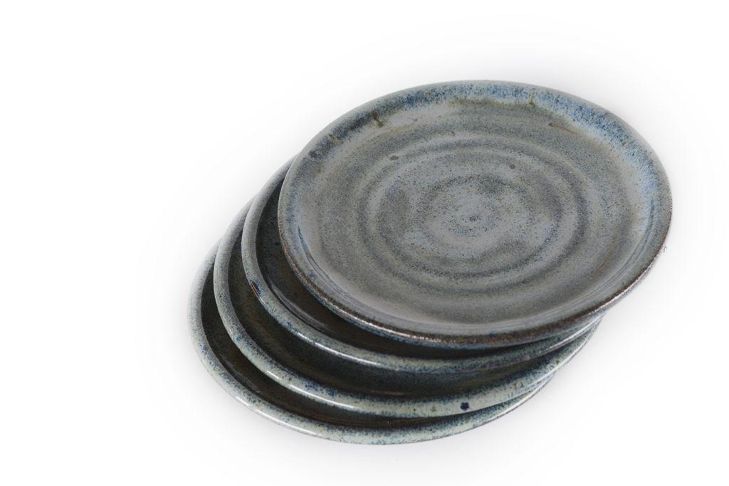 Sage Blue Appetizer Plate