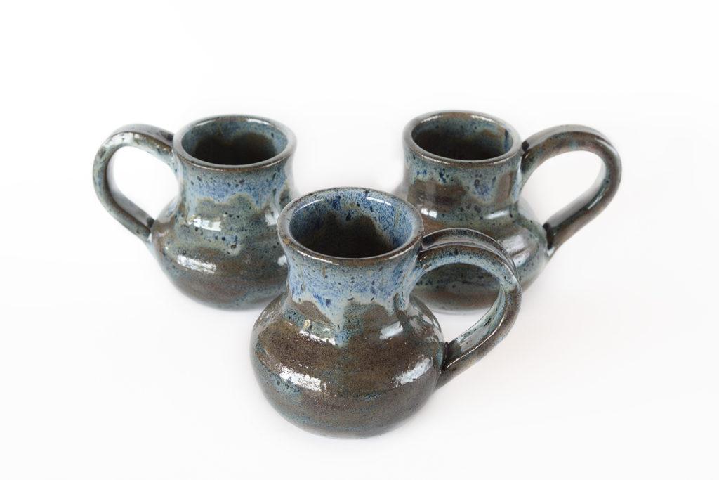 Large Blue Sage Mugs