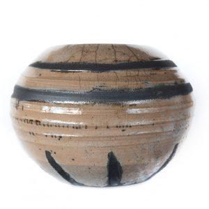 Raku Decorative Rosé Sphere 11